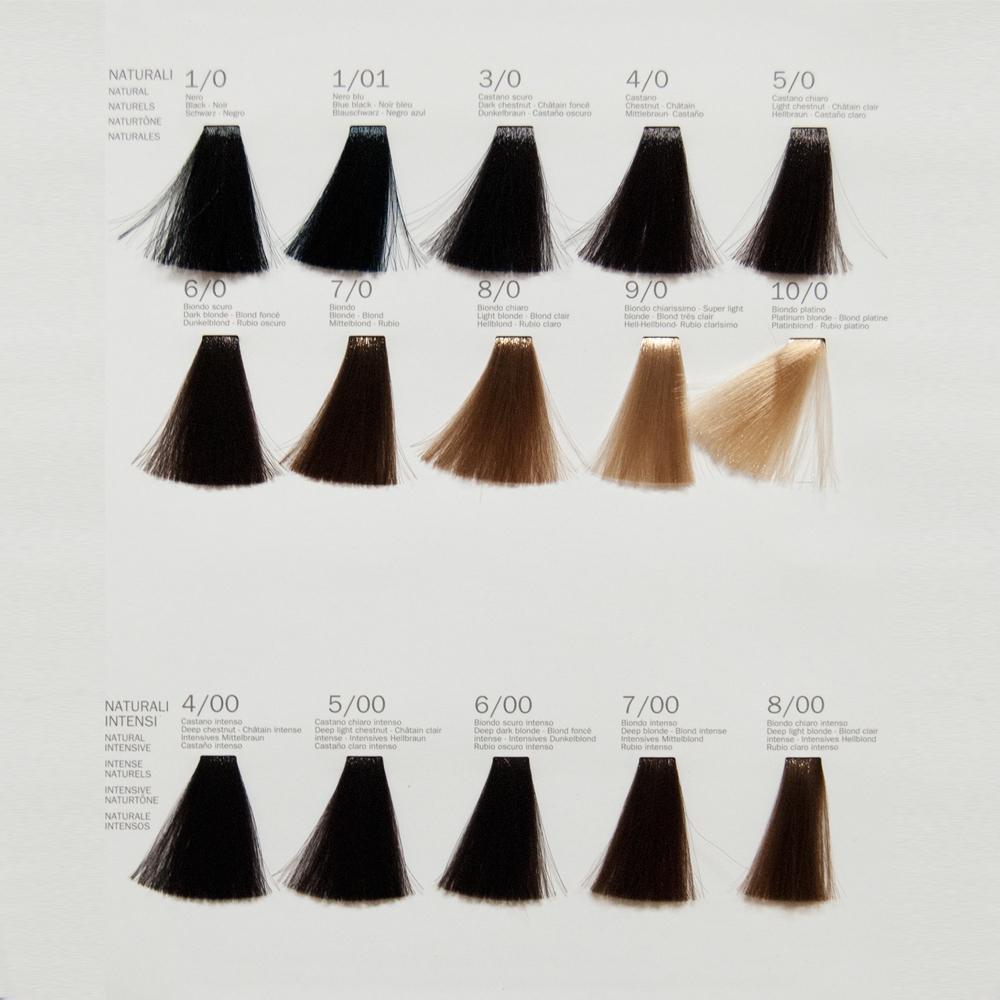 Cartella colori tinte x capelli
